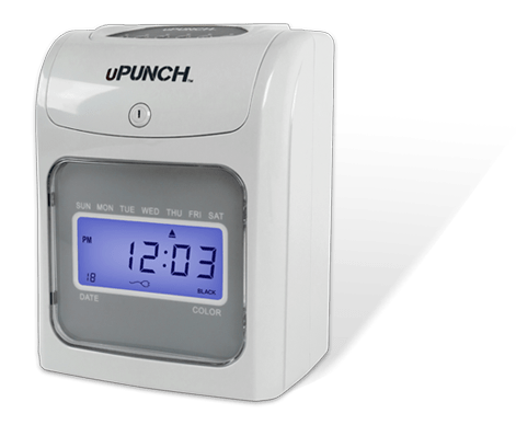 Calculating punch time clock/upunch hn4000