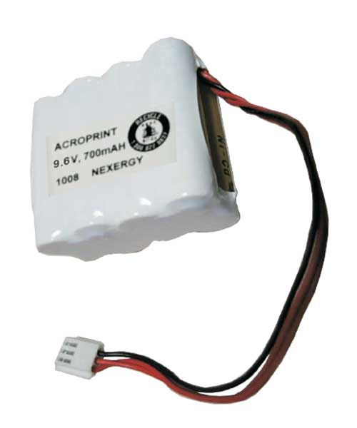 NiCd Battery Pack: Atomic Clocks