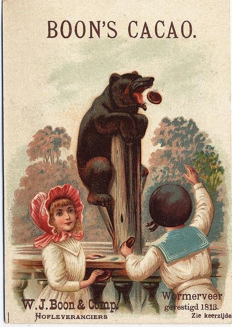 Boon's Cacao Poster circa 1813