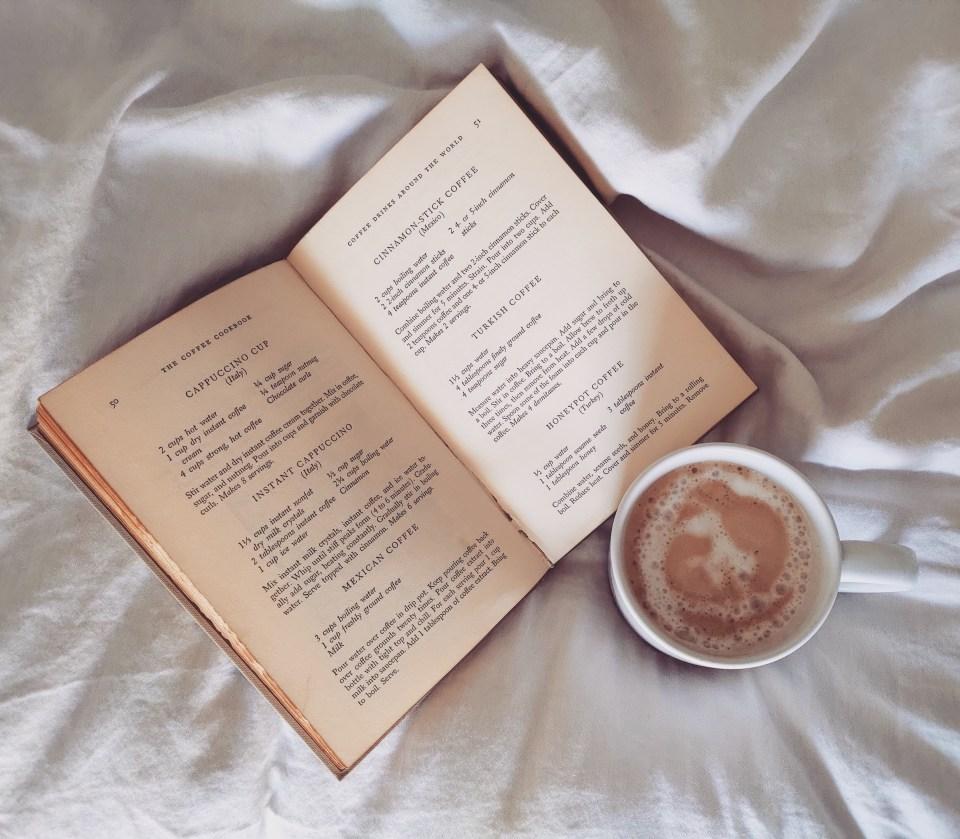 The Coffee Cookbook Flat Lay