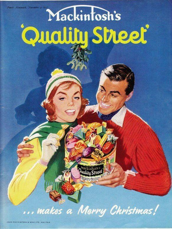 Mackintosh's Christmas Advertisement, circa 1957