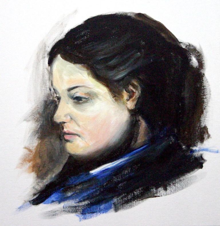 Emma Dobigny after Edgar Degas