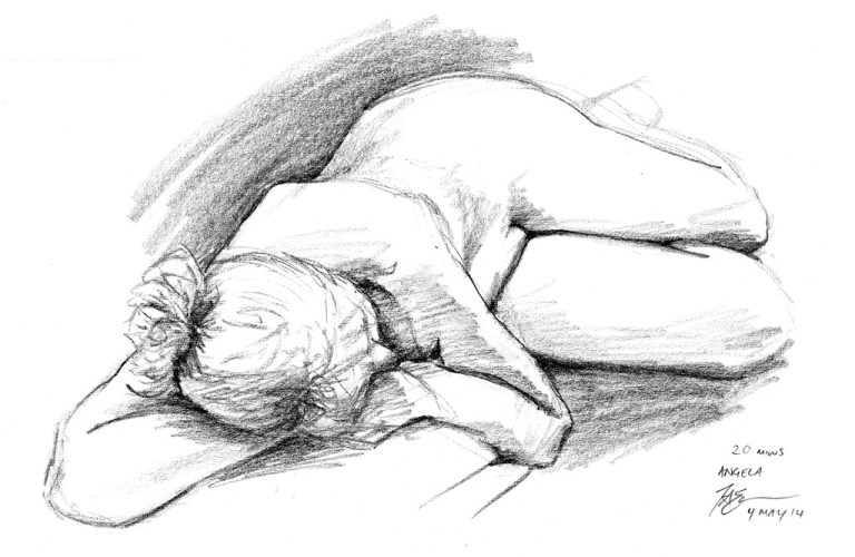 Life Drawing Marathon – May 2014
