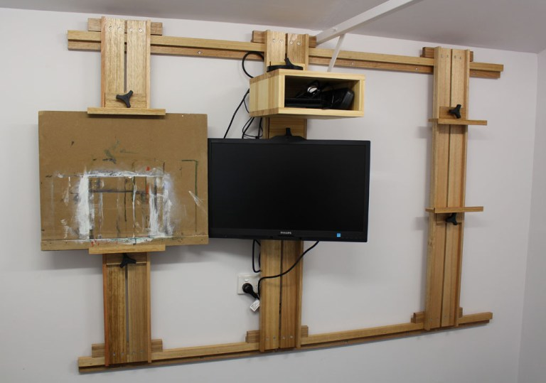 Wall Mounted Easel