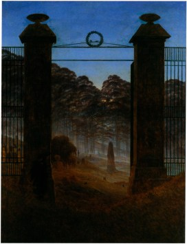 Friedhofseingang (cemetery gate), 1825