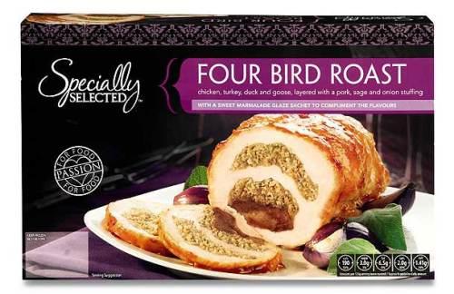 Christmas Four Bird Roast