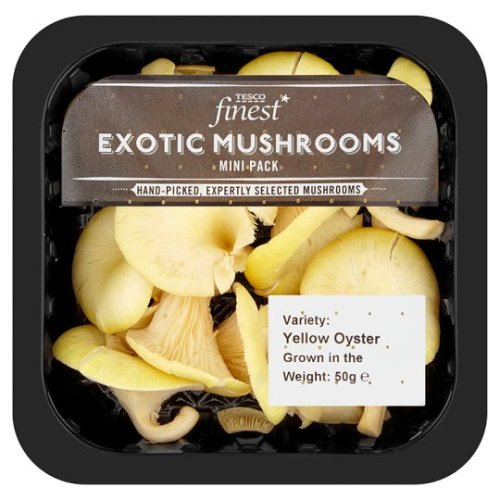 Exotic mushrooms