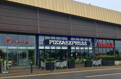 Pizza Express at Cribbs Causeway in Bristol