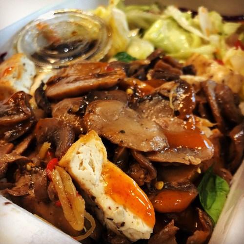 Asian Inspired Tofu & Mushrooms