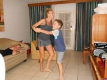 La and Aidan