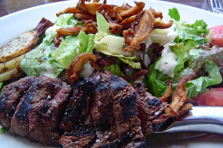 a-steak-salad