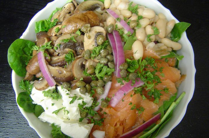 mushroom-salad