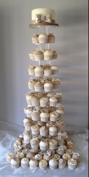 Shabby Chic Cupcakes Time For The Holidays