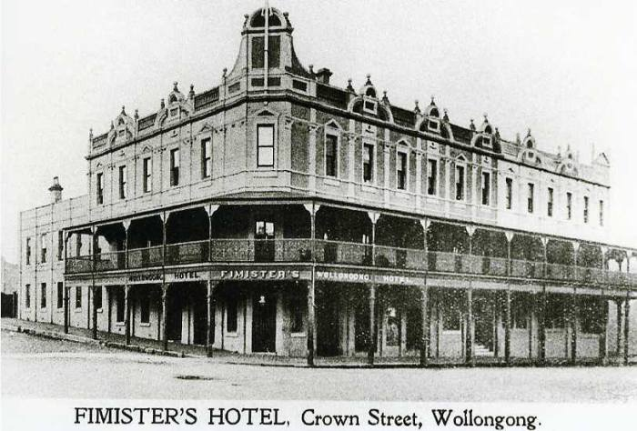 Fimisters Hotel Wollongong
