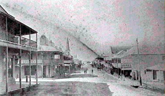 Royal Alfred Hotel Wollongong 1880s