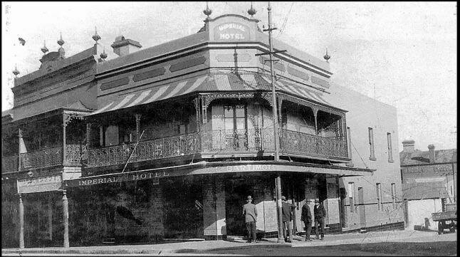 Imperial Hotel, Newtown 1920
