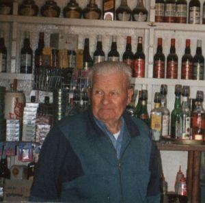 Simon Remienko inside the bar of  the 112 year old Betoota Hotel. PHOTO: b2ta.com