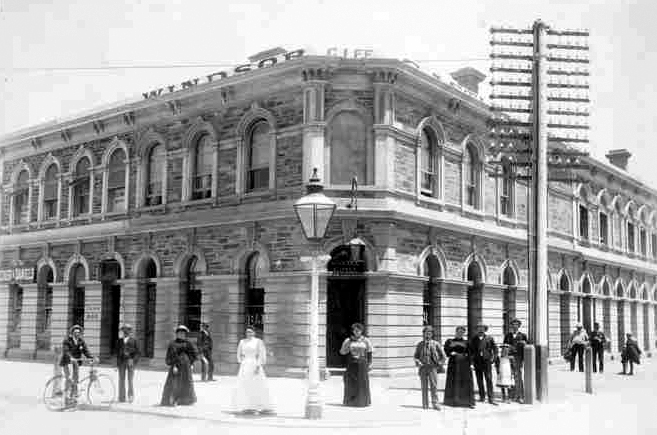 Windsor Castle Hotel, Adelaide, South Australia 1893