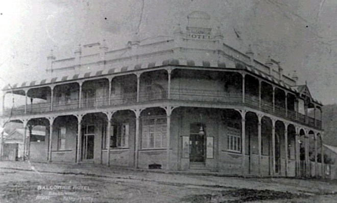 Balgownie Hotel early last century