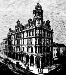 empire hotel pitt street sydney 1887