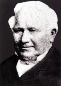 George Hill, who established the Butchers Arms on the corner of Pitt and Parks Streets, Sydney in 1824.