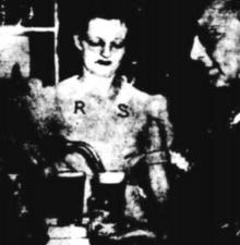 BEER bowser is latest - BARMAID Joan Naira tries out a novelty - a beer bowser - in a Sydney hotel during last week's Christmas rush. The bowser works similarly to a petrol bowser in a service station - Barrier Miner (Broken Hill) Friday 30 December 1949.