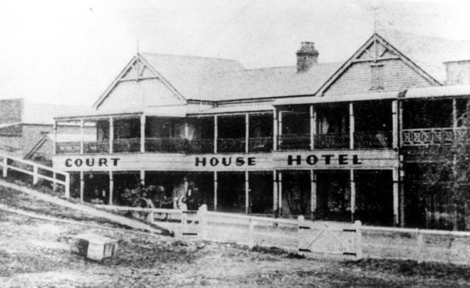 The Courthouse Hotel, Murwillumbah, C1900