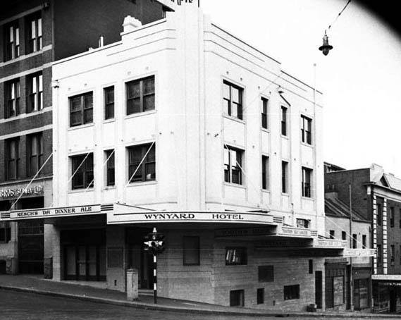 wynyard hotel Sydney 1939