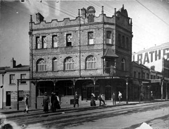 crecy hotel darlinghurst 1910