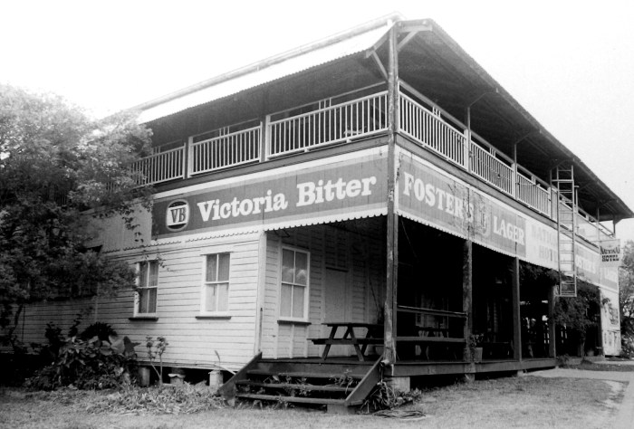 National Hotel Mt Molloy qld 1996
