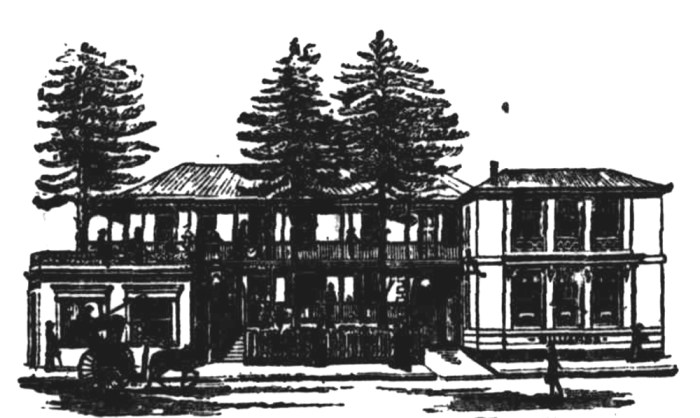 Club House Hotel Sydney NSW 1875