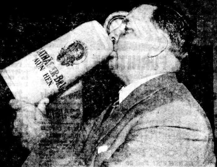 hitler beer mug