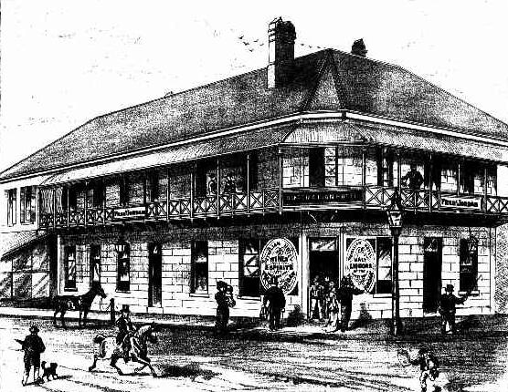 jordans australian hotel brisbane 1884