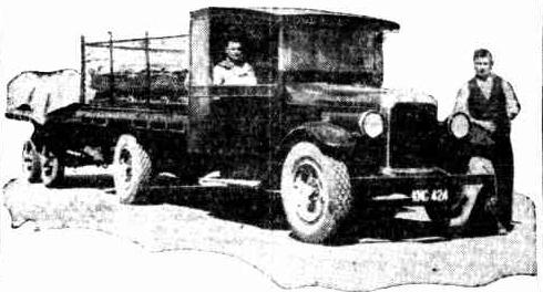kalgoolie beer truck 1933