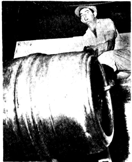 steel keg