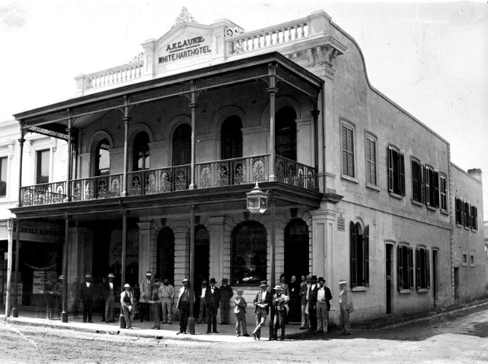 white hart hotel adelaide 1878