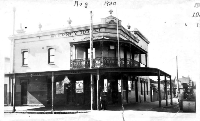 stepney hotel alexandria nsw 1930 small