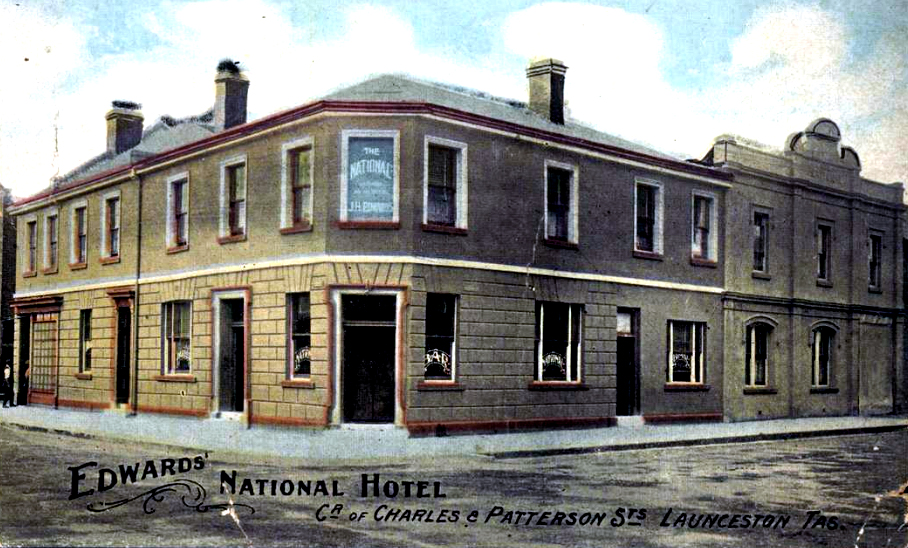 The National Hotel, Launceston