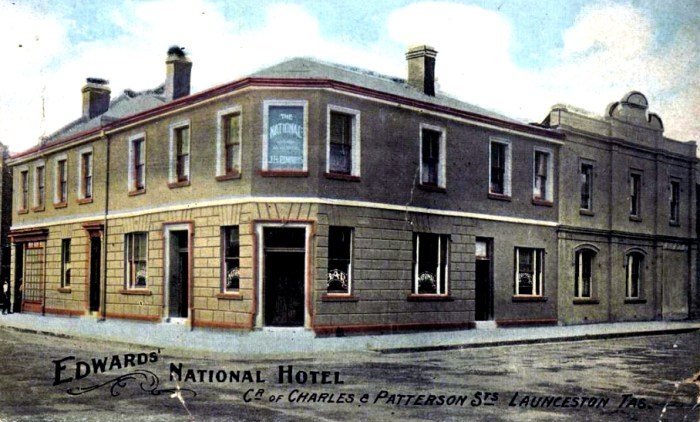national hotel edwards launceston