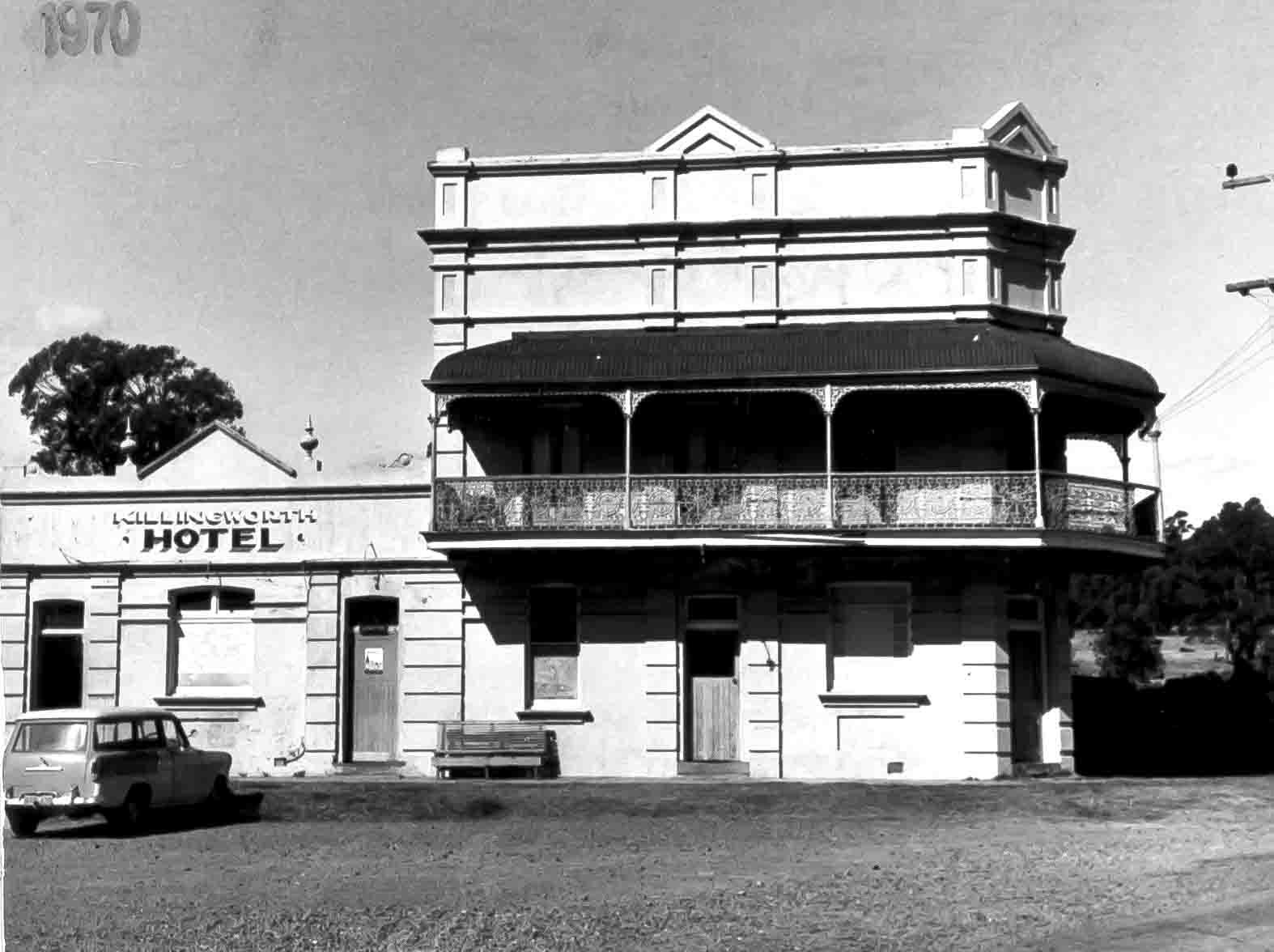 Killingworth Hotel 1970 small