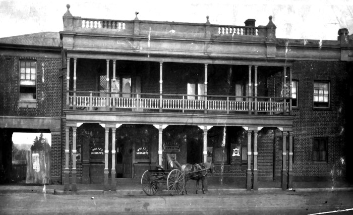 First Nugget Hotel later Tourist Hotel Bathurst 1924 ANU