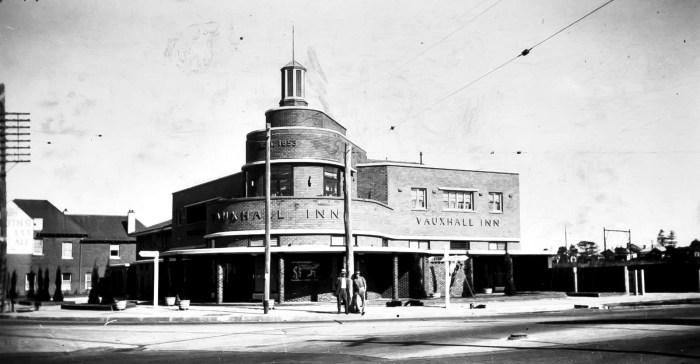 Vauxhall Inn Granville anu 1939