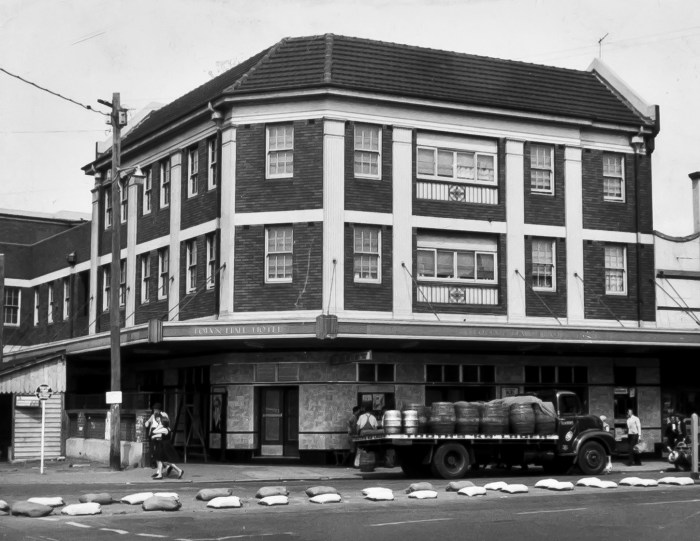 Town Hall Hotel Newtown 1960s ANU