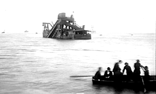 latrobe dredge hobson bay victoria 1898