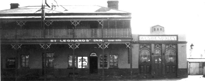 st leonards inn SA 1934