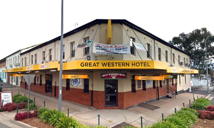 GReat Western Hotel Orange Google Streetview