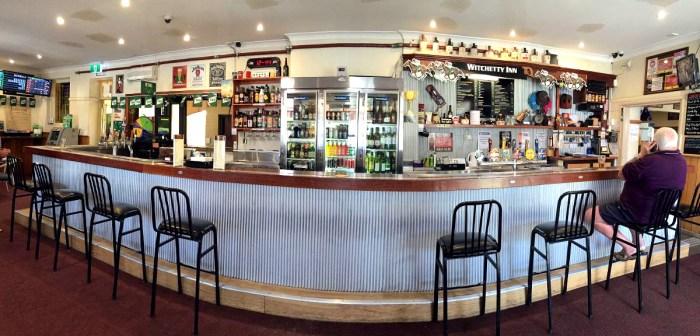 GReat Western Hotel bar Orange