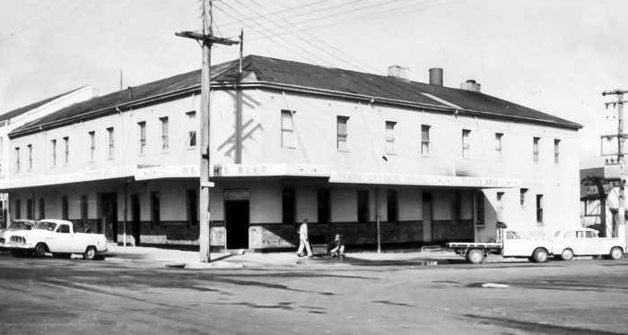 Great Western Hotel Orange 1970 anu
