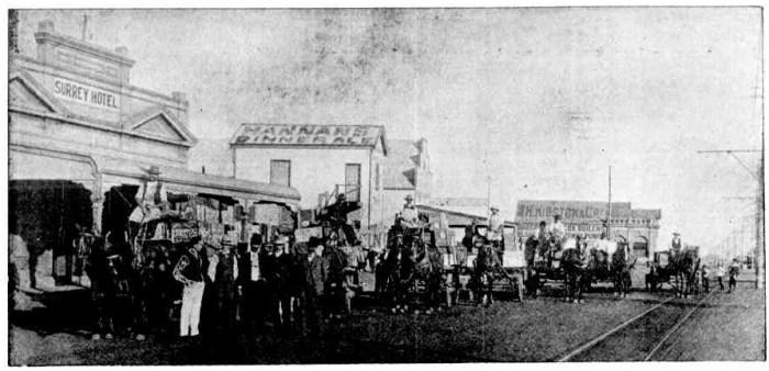 Hannans Brewery Kalgoorlie WA 1908