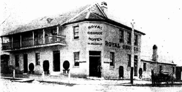 Royal George Hotel 1855 Fortitude Valley